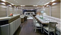 Yacht OPATI -  Salon and Dining